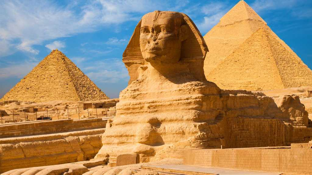 1. Great Sphinx of Giza - Giza Plateau